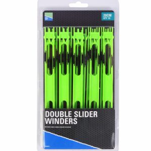 DOUBLE SLIDER WINDERS 20cm GREEN
