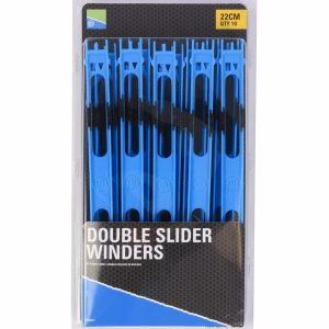 DOUBLE SLIDER WINDERS 22cm BLUE