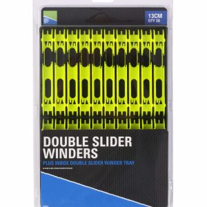 DOUBLE SLIDER WINDERS 13cm IN A TRAY