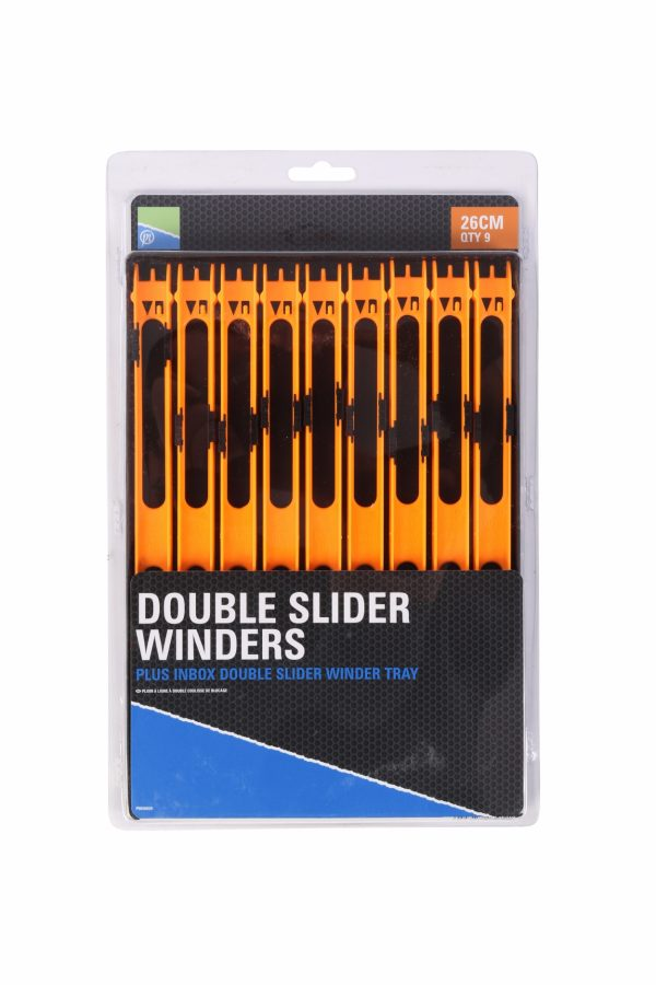DOUBLE SLIDER WINDERS 26cm IN A TRAY