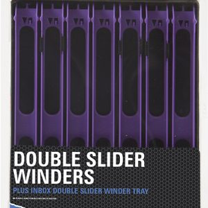 DOUBLE SLIDER WINDERS 26cm WIDE IN A TRAY (5)
