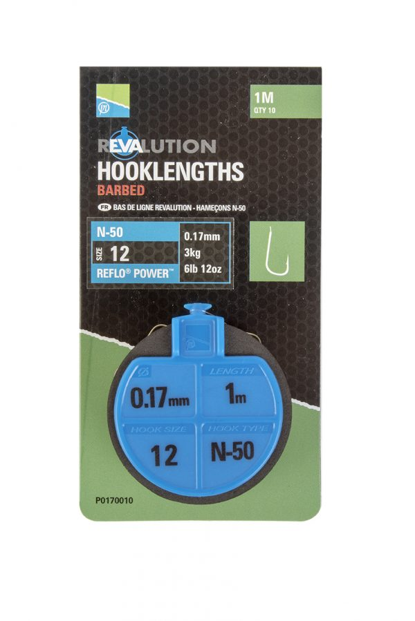 REVALUATION HOOKLENGTHS - N50 SIZE 12