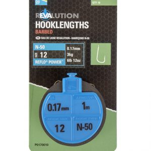REVALUATION HOOKLENGTHS - N50 SIZE 16