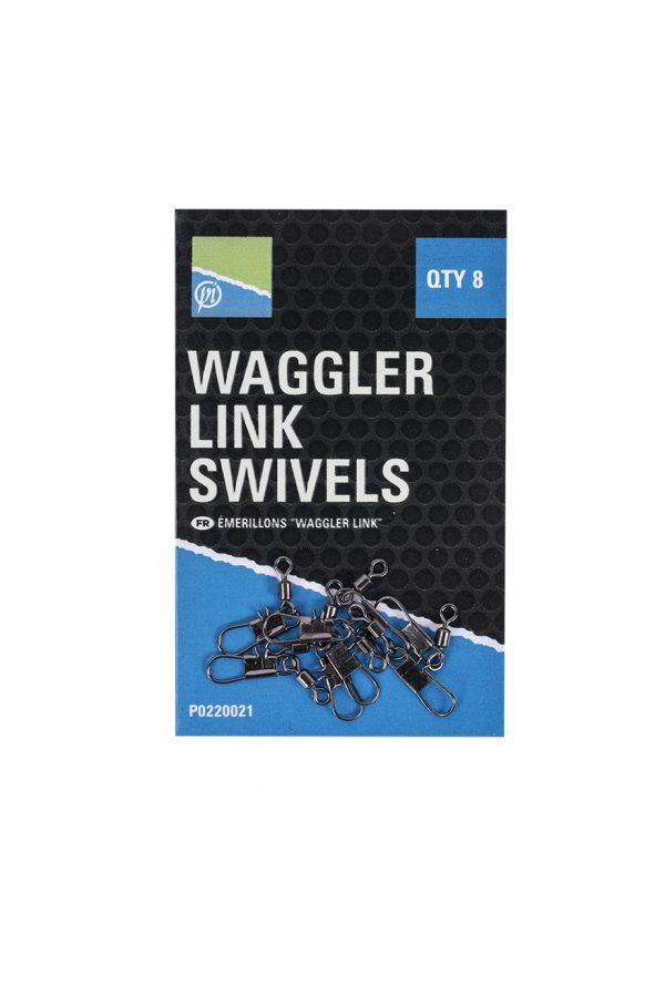 WAGGLER LINK SWIVELS (10)