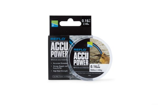PRESTON ACCU POWER RIG MONO 0.11MM