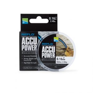 PRESTON ACCU POWER RIG MONO 0.12MM
