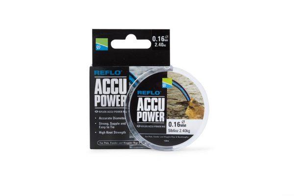 PRESTON ACCU POWER RIG MONO 0.22MM