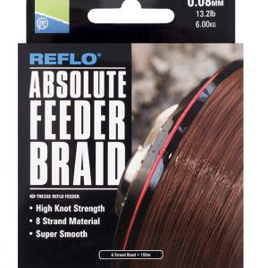 ABSOLUTE FEEDER BRAID - 0.08MM - 150M (5)