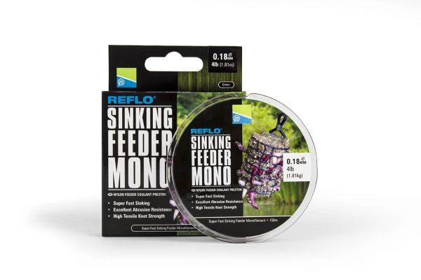 0.26MM REFLO SINKING FEEDER MONO - 150M SPOOL - 8lb