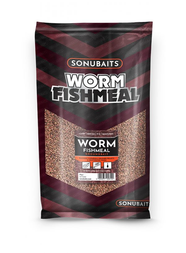 Groundbait Worm Fishmeal (2kg)