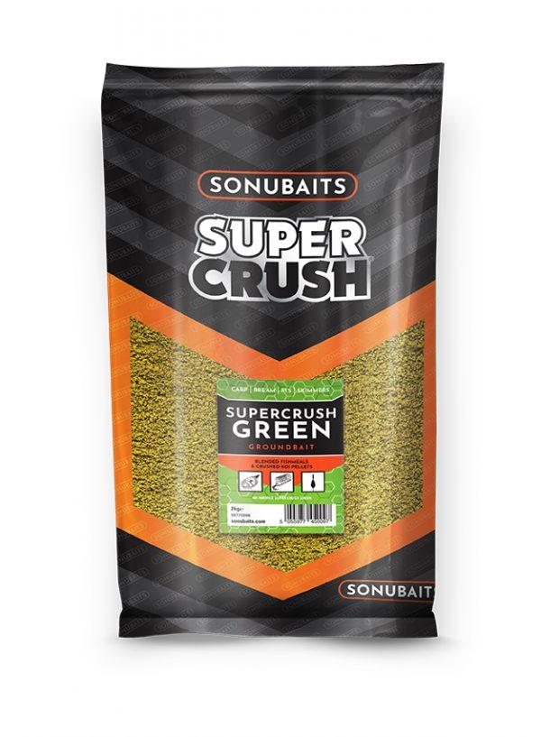 Groundbait Supercrush Green (2kg)