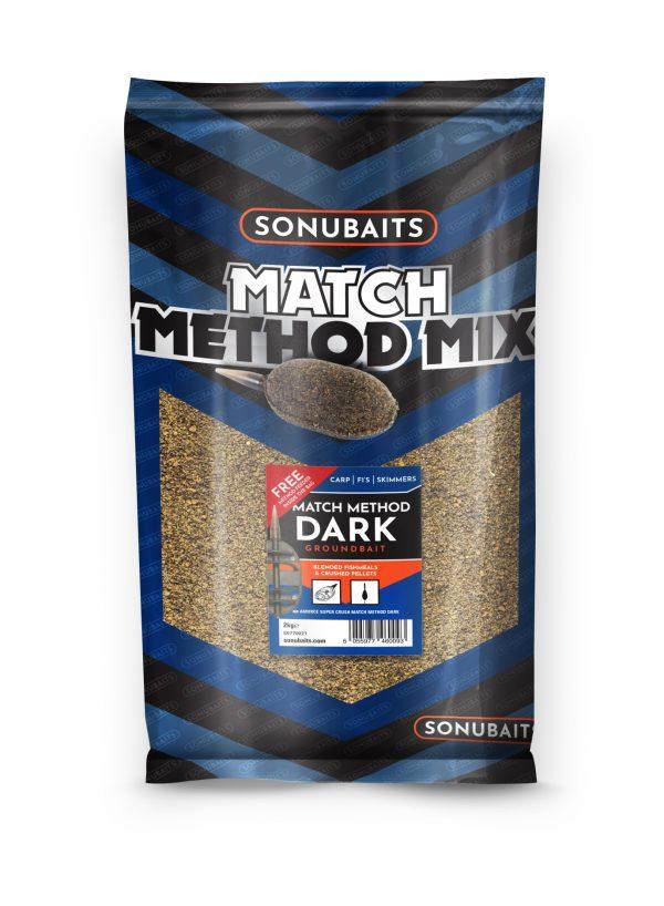 Groundbait Match Method Mix Dark (2kg)