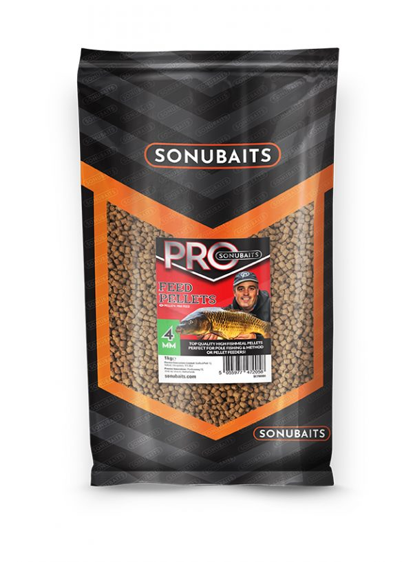 Feed Pellets Pro 4mm (1kg)