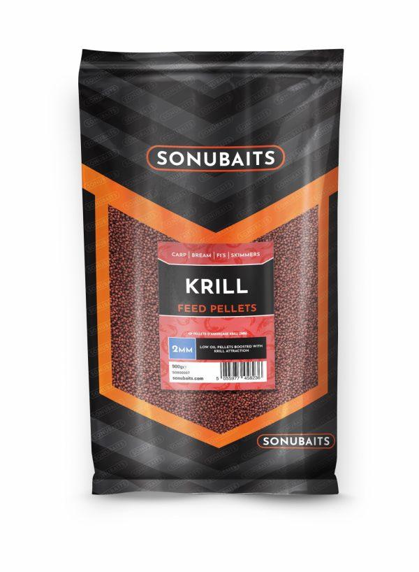 Feed Pellets 2mm Krill (900gr)