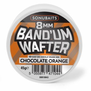 Band'ums Wafters 8mm Chocolate Orange
