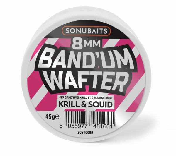 Band'ums Wafters 8mm Krill & Squid