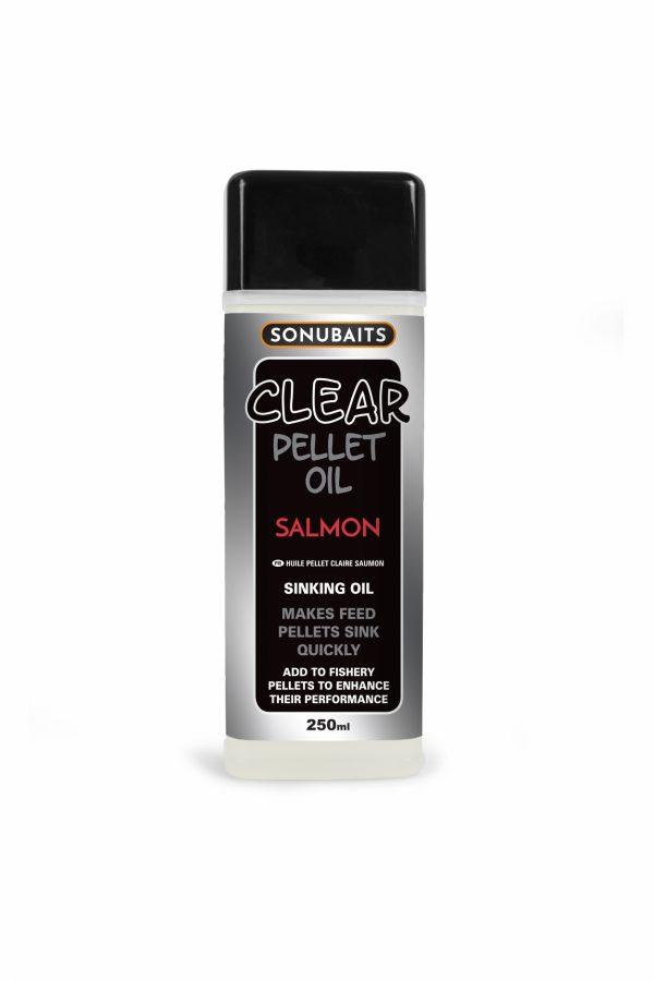 Clear Pellet Oil Salmon